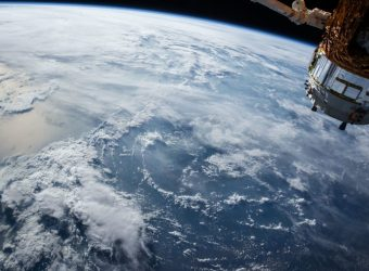 satelita, kosmos, Ziemia, statek kosmiczny